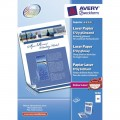 AVERY ZWECKFORM 1298 COLOR LASER PAPER A4