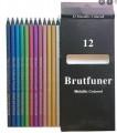 BRUTFUNER 金屬色鉛筆 12