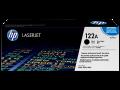 HP 122A 原廠 LaserJet 碳粉盒