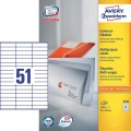 AVERY ZWECKFORM 3420 LABEL 70MMX16.9MM