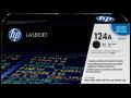 HP 124A  原廠 LaserJet 碳粉盒